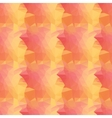 seamless orange triangle vector image vector image