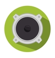 speaker sound isolated icon design vector image vector image