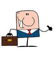 Thumbs Up Caucasian Businessman vector image vector image