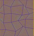 Abstract irregular rectangle mosaic background vector image