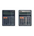 calculator or adding machine realistic vector image