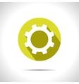 cogwheel icon Eps10 vector image