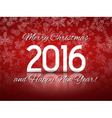 Happy 2016 New Year vector image vector image
