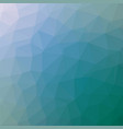 polygonal background in teal and true blue tones vector image