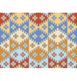 Seamless mosaic background Indian style vector image vector image