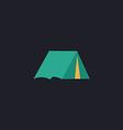 tent computer symbol vector image