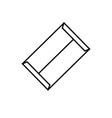 big file envelope icon vector image