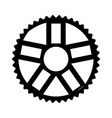 bicycle gear icon vector image
