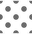 car wheel pattern seamless black vector image vector image