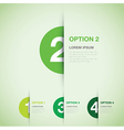 green option background vector image vector image