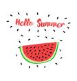 HelloSummer vector image vector image