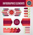 infographic element set vector image