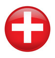 isolated flag of switzerland vector image