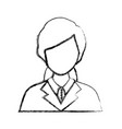 lawyer woman vector image