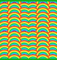 rainbow background seamless pattern with colorful vector image