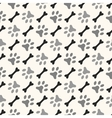 Seamless animal pattern of paw footprint and bone vector image vector image