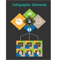 Business Concept - Infographic vector image