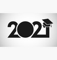 2021 education black and white vector image