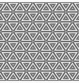 abstract geometric simple pattern of triangles vector image