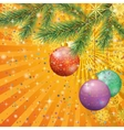 Christmas Holiday Background vector image vector image