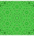 Creative Ornamental Green Pattern vector image