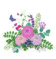 Flowers Bunch vector image vector image