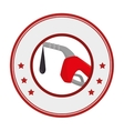 fuel station service icon vector image vector image