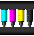 Ink levels vector image