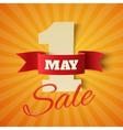 May 1st Sale vector image