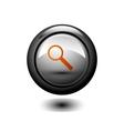 Round Search IconButton vector image vector image