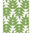 seamless pattern from green leaves vector image vector image