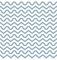 seamless vintage waves vector image