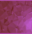 shiny polygonal background in hot pink tones vector image vector image