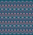tribal art seamless pattern ethnic geometric vector image vector image