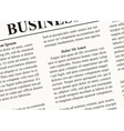 A newspaper background vector image
