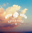 Adventure background vector image vector image