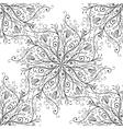 Calligraphy penmanship decorative seamless vector image