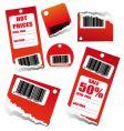 discount sales tag vector image