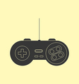 Gamepad Joystick Icon vector image vector image