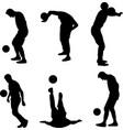 juggling boy vector image
