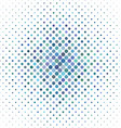 Light blue circle pattern background vector image vector image