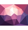 low poly background Abstract diamond vector image vector image
