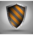 Shield design vector image vector image