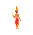 varuna indian god of the waters of the world vector image vector image