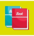 book isolated icon design vector image vector image