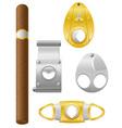 cigar 08 vector image