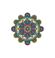 Decorative mandala ornament rosette vector image vector image