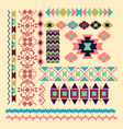 Geometric Elements for Frame and border vector image vector image