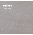 gray brown watercolor background vector image vector image