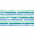 modern watercolor brush stripes seamless vector image vector image
